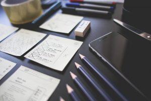 鉛筆とペン