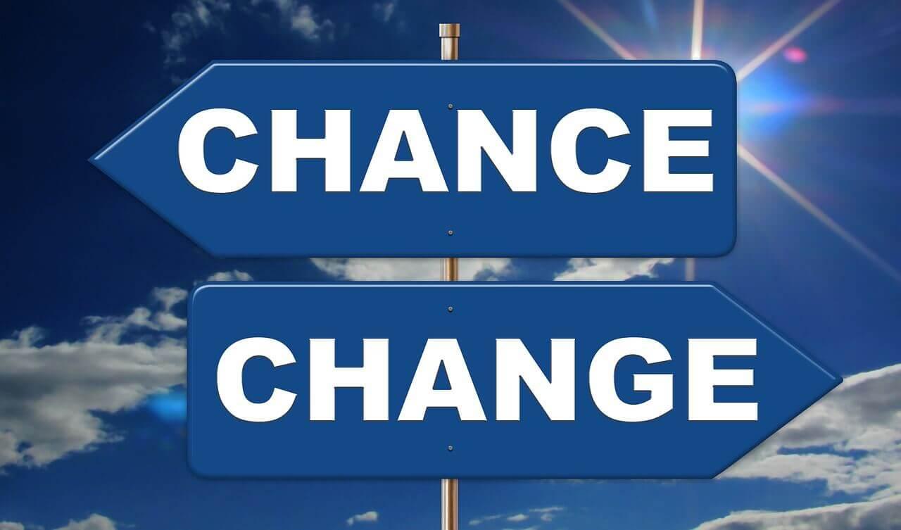 CHANCEとCHANGE